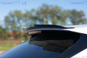Спойлер на крышку багажника, Maxton Design, для S-Line