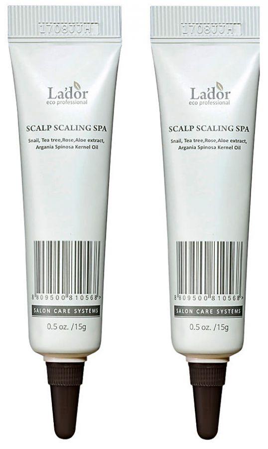 Сыворотка-пилинг для очищения кожи головы Lador 15мл