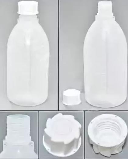 Бутылка узкогорлая, градуированная на 500 мл Италия (Упаковка 5 шт)
