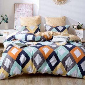 Комплект постельного белья Делюкс Сатин L369