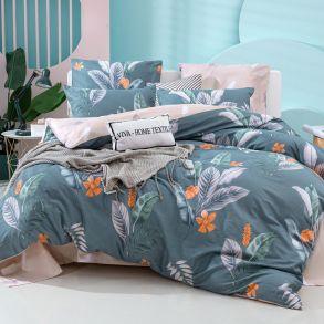 Комплект постельного белья Делюкс Сатин L378