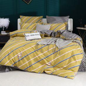 Комплект постельного белья Делюкс Сатин L389