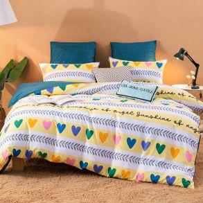 Комплект постельного белья Делюкс Сатин L395