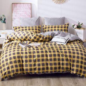 Комплект постельного белья Делюкс Сатин L397