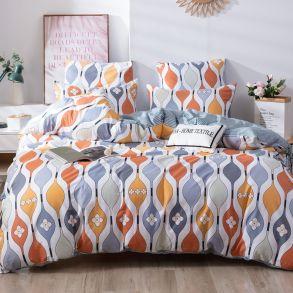 Комплект постельного белья Делюкс Сатин L398