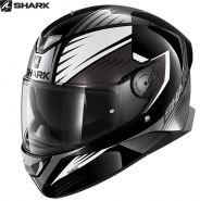 Шлем Shark Skwal 2 Hallder, Черно-белый