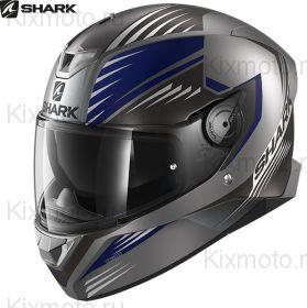 Шлем Shark Skwal 2 Hallder, Матовый серый