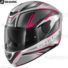 Шлем Shark D-Skwal 2 Daven, Серо-розовый