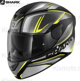 Шлем Shark D-Skwal 2 Daven, Серо-желтый
