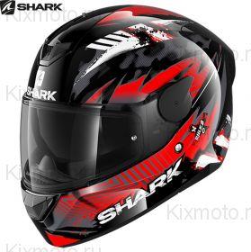 Шлем Shark D-Skwal 2 Penxa, Черно-красный