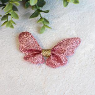 Кукольный аксессуар - Патч бантик-бабочка 6,5*5 см.