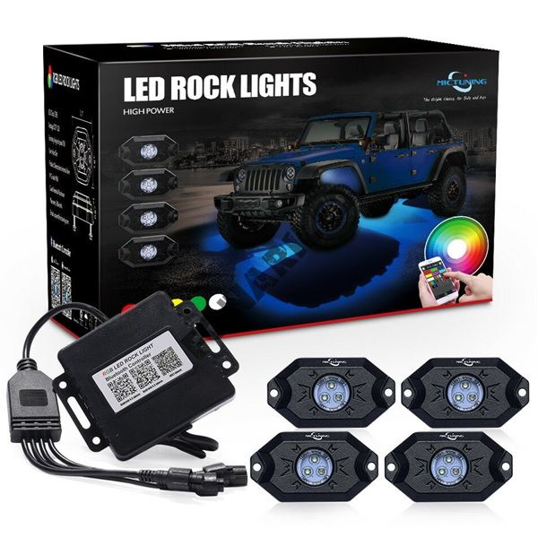Светодиодная подсветка днища автомобиля MUD LIGHT MONSTER MLM4
