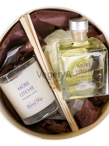 Подарочный набор ароматный (КИТАЙСКАЯ СЛИВА) LUMIERES
