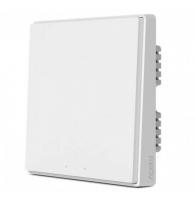 Выключатель настенный Aqara одноклавишный Wall Switch D1 (Одинарный, без нулевой линии. Белый) (QBKG21LM)