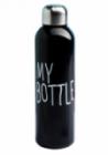 Бутылка для воды My bottle 700 мл черная