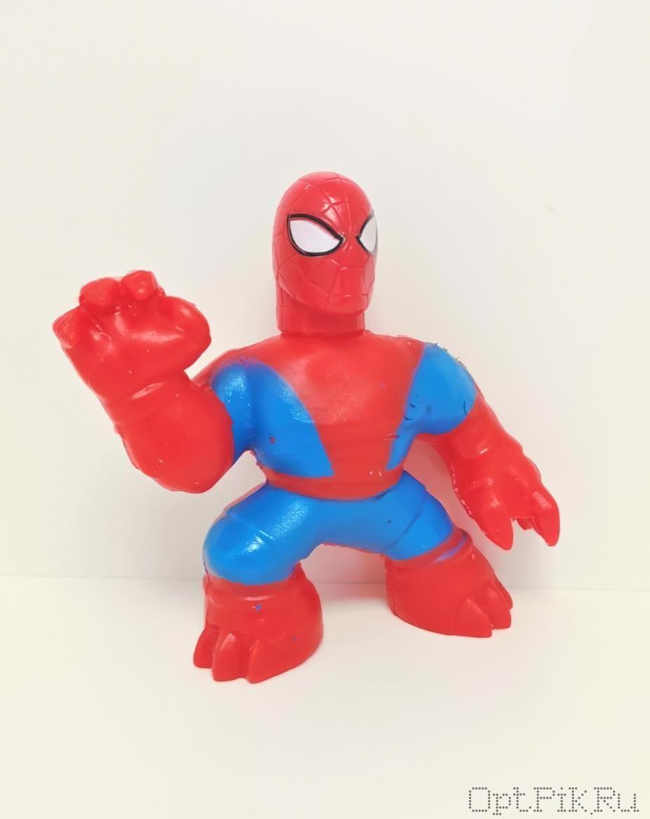 Гуджитсу Человек паук. Тянущаяся фигурка Goojitzu