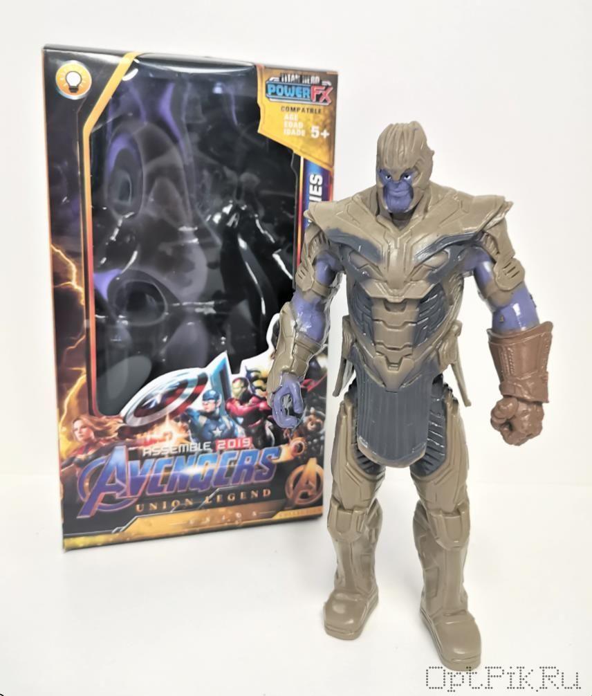 Фигурка Мстители 2019 Танос в коричневых доспехах 15 см