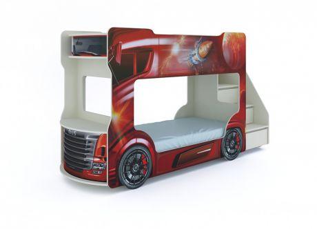 Кровать Автобус с матрасами