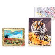 """Набор для раскрашивания по номерам """"Тигр"""" 40*50 см (арт. S 3823)"""