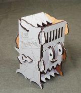 """Башня для бросания кубиков """"Dice Crusher"""" серый"""