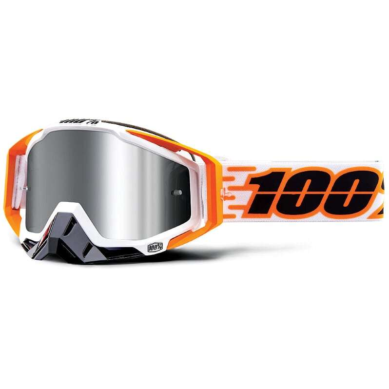 100% - Racecraft Plus Illumina Silver Mirrored Lens, очки
