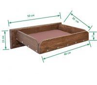 Кроватка для кошек размеры