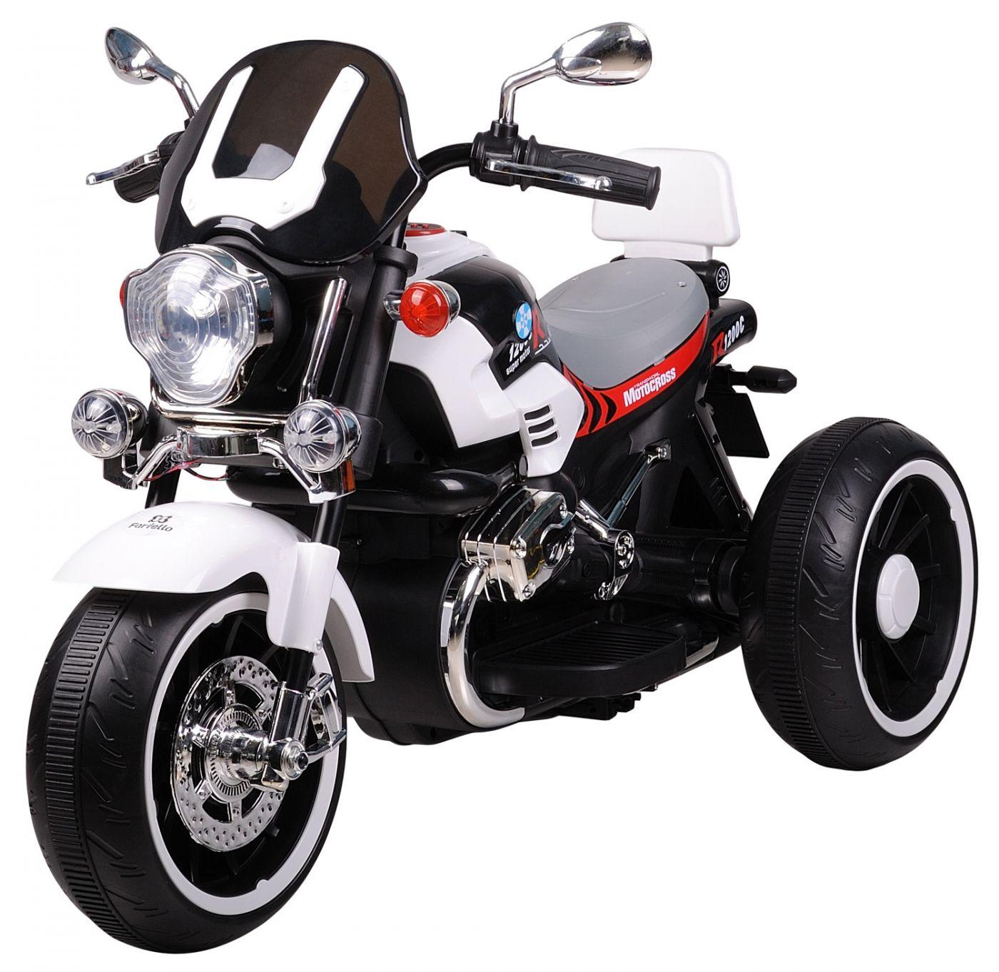 Детский электромобиль (2020) DLS01 (12V), белый / white DLS01