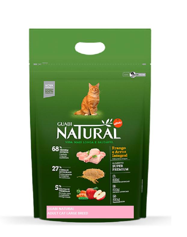 GUABI NATURAL для крупных кошек