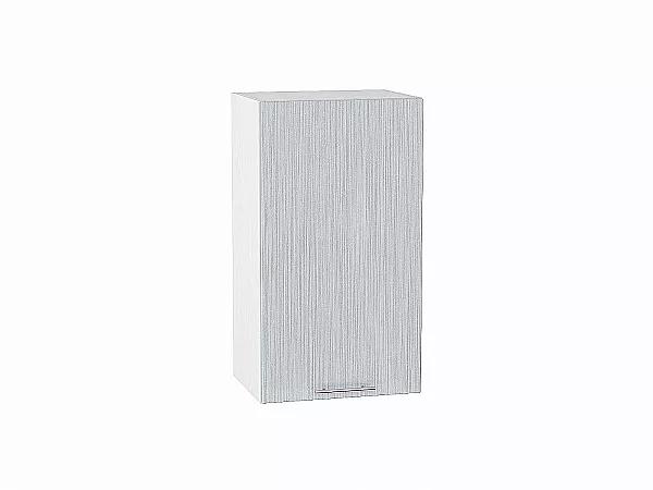 Шкаф верхний Валерия В400 (серый металлик дождь)