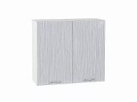 Шкаф верхний Валерия В800 (серый металлик дождь)