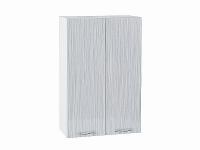 Шкаф верхний Валерия В609 (серый металлик дождь)