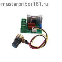 Cимисторный регулятор напряжения на 2000 Вт с резистором на проводе