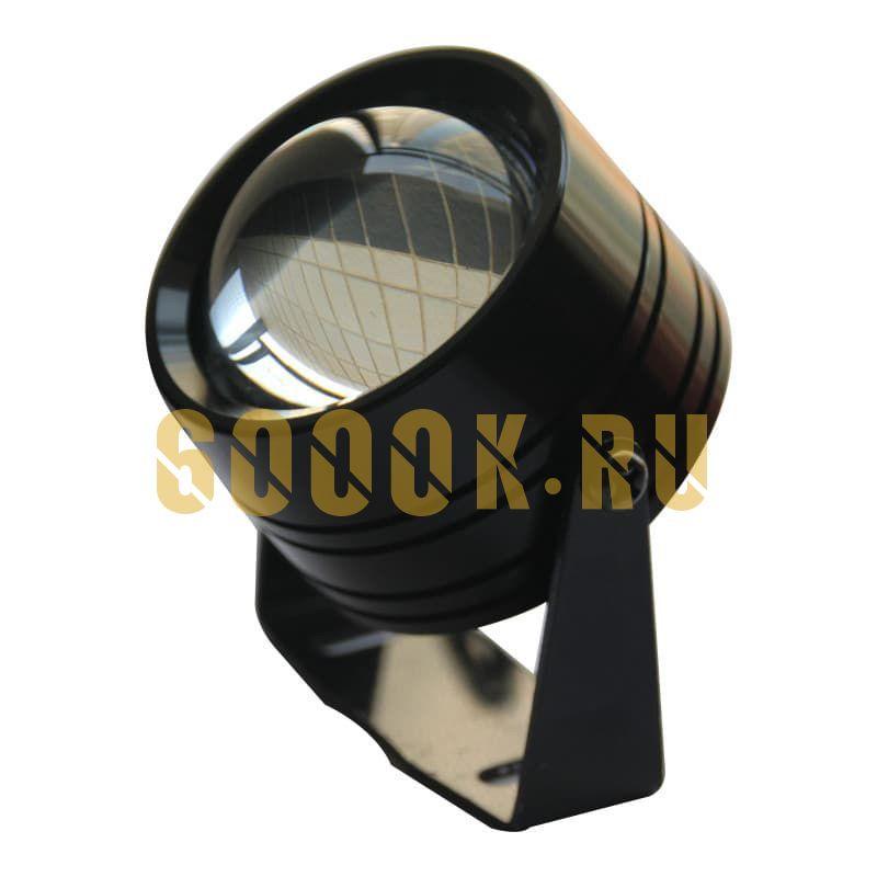Фара линза черная 50 мм дальнего света