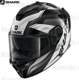 Шлем Shark Spartan GT Elgen, Черно-белый