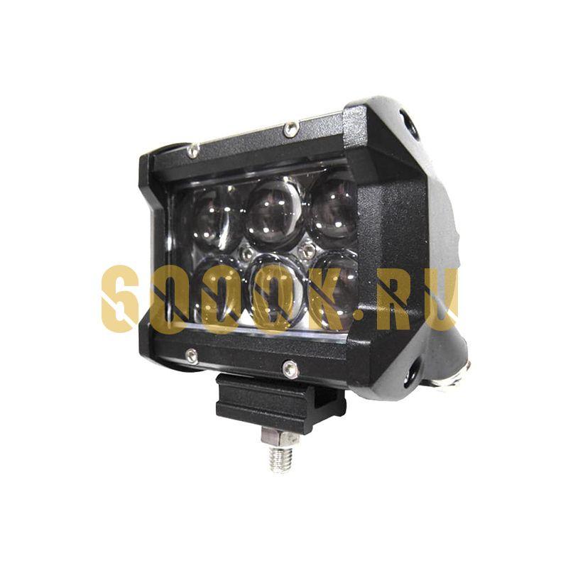 Светодиодная фара 18W 4D дальнего света
