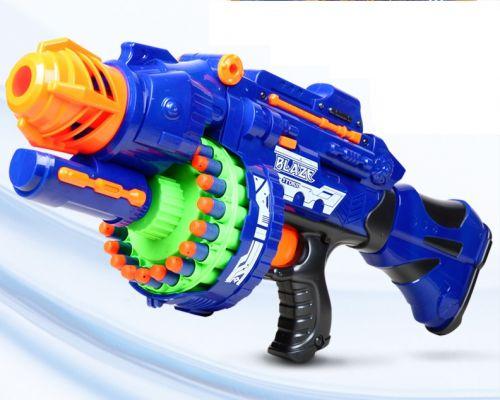 Бластер электрический с мягкими пулями и прицелом blaster electric soft bullet gun SB400