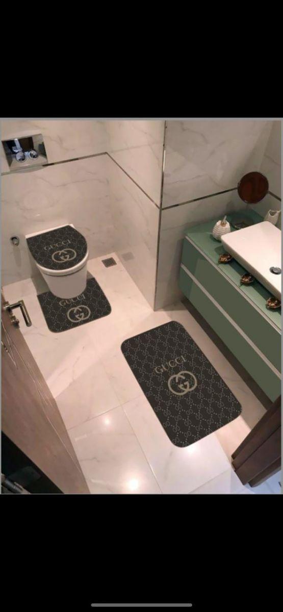 Брендовые коврики в ванную