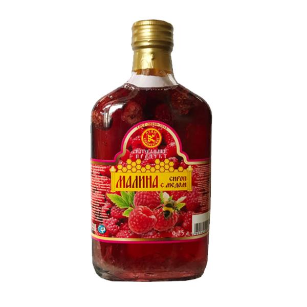 Сироп Малина с мёдом
