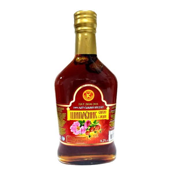 Сироп Шиповник с медом