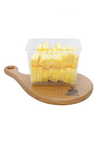.Контейнер с ананасом 1кг (2-х литровый контейнер)