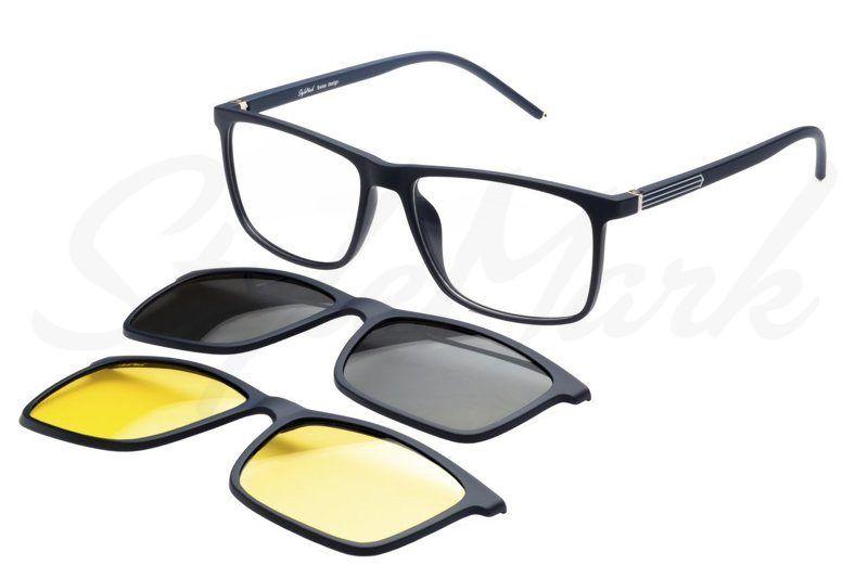 Оправа с солнцезащитной насадкой (Clip-on) StyleMark Polarized C2707C