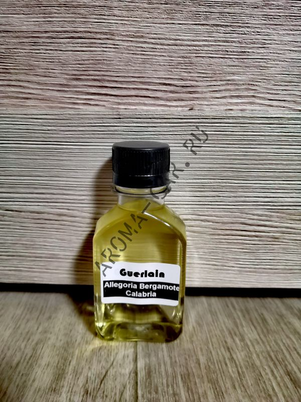 Парфюмерное масло Guerlain — Aqua Allegoria Bergamote Calabria 100 мл