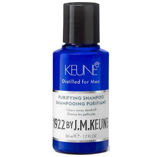 Keune Обновляющий шампунь против перхоти 1922 Purifying Shampoo, 50 мл.