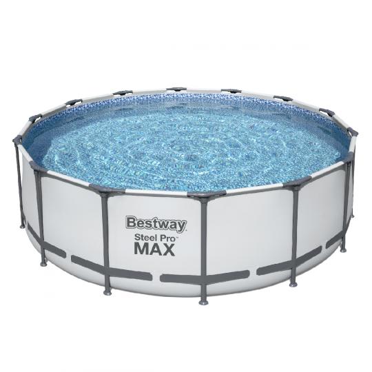 Каркасный бассейн Bestway 5612X (427х122 см) с кар. фильтром, тентом и лестницей