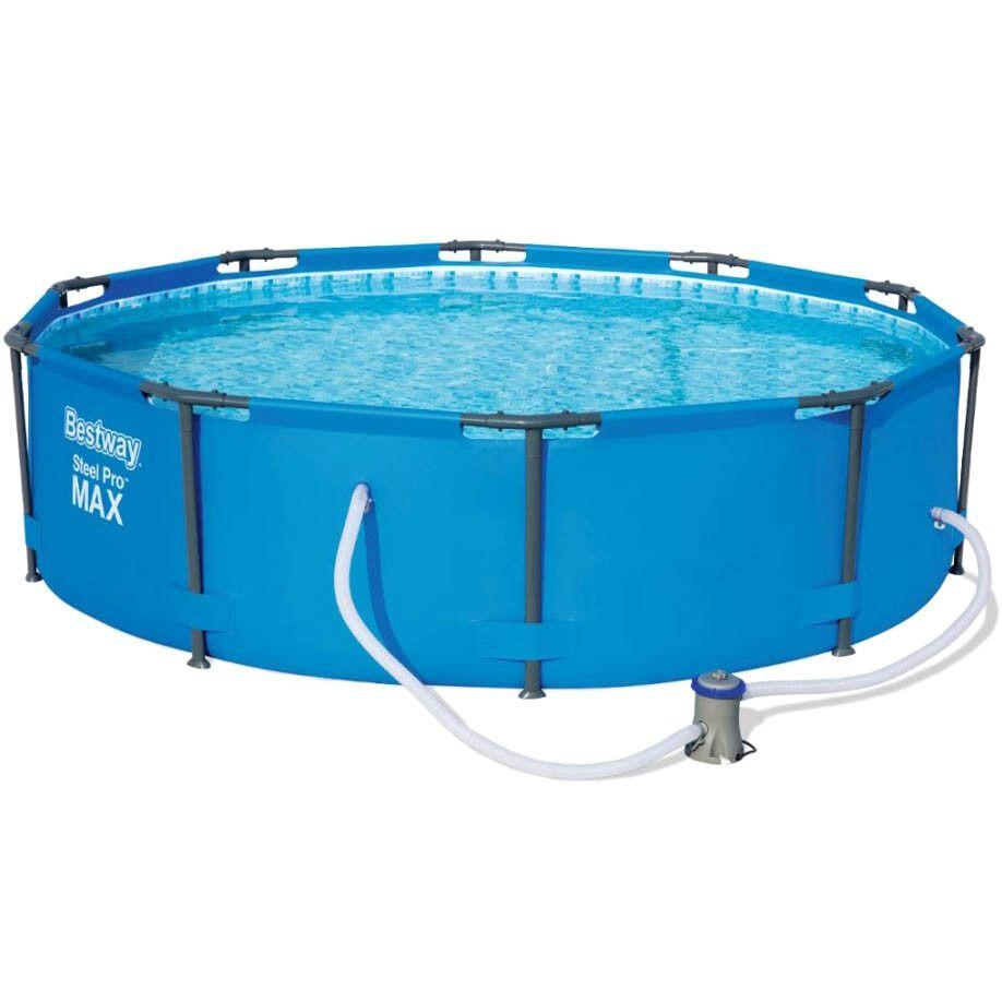 Каркасный бассейн Bestway 56984 (305х100) с картриджным фильтром