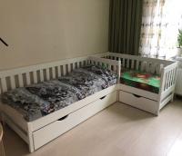 Кровать угловая Fairy Land (для двоих детей)