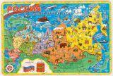 """Деревянный пазл """"Карта России"""""""