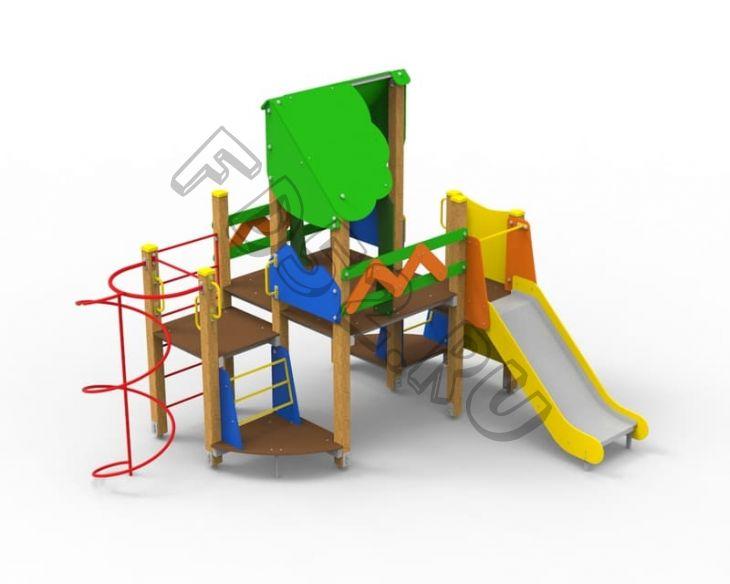 Детский игровой комплекс «Станица»  311.10