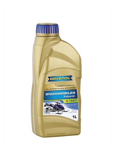 Масло для мотосаней RAVENOL Snowmobiles 4-Takt Fullsynth