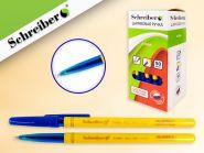 Ручка шариковая, цв. чернил - синий (Россия) желтая (арт. S 325 A)